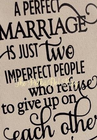 A Perfect Marriage-Farmhouse,canvas,print,saying,vinyl