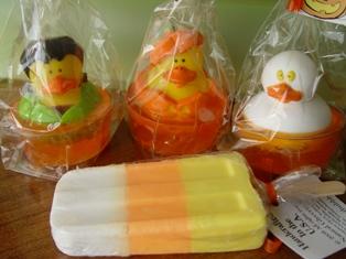 Halloween Soaps-Halloween,soap,candy,corn,ghost,pumpkin,vampire,handmade
