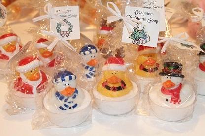 Christmas Duckies-Christmas,soap,duckies,cute,boys,girls,good,clean,fun,advent,calendar,reward,gift,season,splish,splash,bath