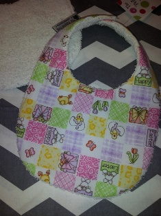 Baby Bib Easter Surprise-Baby,bib,Easter, surprise, terry, cotton