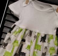 Body Suit Black and Green Giraffe Print-Baby, Body, suit, onsie,giraffe