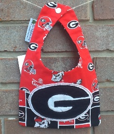 Clearance Georgia Bulldogs Baby Bib-Clearance,Georgia,Bulldogs,Baby,Bib